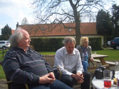 Hennie, Richard en Anne